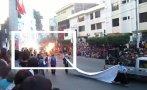 Danzante de corso de Piura se prendió en llamas [VIDEO]