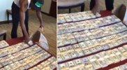 Floyd Mayweather ostenta una vez más sus miles de dólares