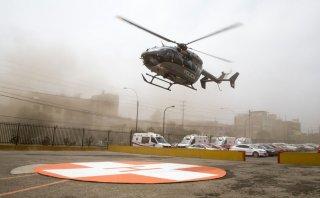 El simulacro aeromédico por el fenómeno de El Niño [FOTOS]