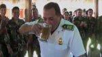 Policías del Vraem celebraron ascensos con 'bautizo' de alcohol - Noticias de pedro yaranga