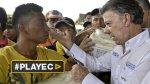 Santos critica deportaciones por nacionalidad en el siglo XXI - Noticias de