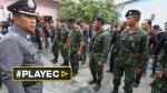 Tailandia: policías y militares buscan pistas del atentado - Noticias de operativos policiales