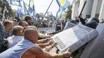 Ucrania: Violencia frente al Parlamento deja más de 120 heridos - Noticias de policias muertos