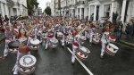 Así arrancó el colorido carnaval de Notting Hill en Londres - Noticias de robyn benson