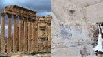 Palmira: Imágenes confirman la destrucción del templo de Baal - Noticias de imagenes satelitales