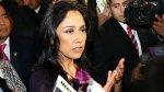Nadine: Informe no tiene nada que ver con marco de pesquisas - Noticias de ollanta humala