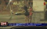 Centro de Lima: robos, prostitución y venta de drogas