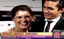 Nataniel Sánchez terminó con Rodrigo Fernandini [VIDEO]