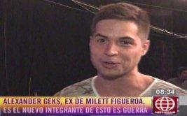 """Milett Figueroa: su ex, Alexander Geks, pide """"no lo juzguen"""""""