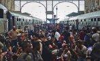 Caos en estación de trenes de Budapest por ola de inmigrantes