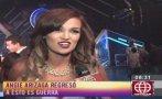 """Angie Arizaga a sus críticos: """"Me bañé en aceite"""" [VIDEO]"""