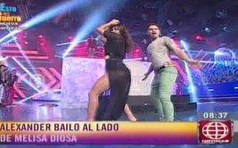Melissa Loza es halagada por ex de Milett Figueroa [VIDEO]