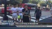 Selección peruana entrena en Washington para enfrentar a EE.UU.