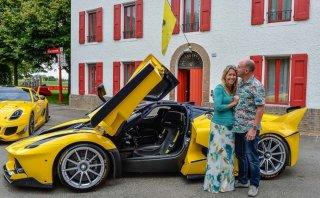Un ejecutivo de Google le regala un Ferrari FXX K a su esposa