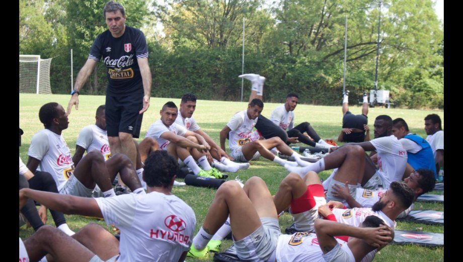 Selección peruana: así entrenan en Washington [FOTOS]