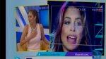 Karen Schwarz: temblor la alarmó durante programa en vivo - Noticias de conductores de esto es guerra