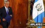 Guatemala: justicia prohíbe al presidente Pérez salir del país
