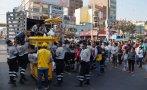 La Victoria: retiran ambulantes de jirones Huánuco y Gamarra