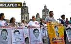 """Deudos de Ayotzinapa: """"Gobierno de Peña Nieto es una vergüenza"""""""