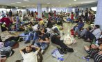 Crisis migratoria: Los migrantes varados que esperan a Budapest