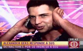 "Alexander Geks a Milett Figueroa: ""Tengo dignidad"" [VIDEO]"