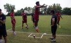 Selección peruana: las mejores fotos de la práctica de hoy