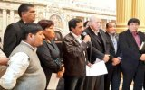 Gobernador de Loreto está en Lima: dice no estar detrás de paro