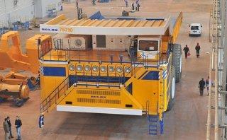 El camión más grande del mundo ahora es eléctrico