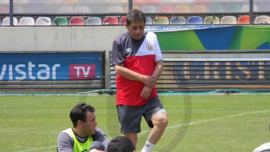 Roberto Chale en Universitario: así fue su primer entrenamiento