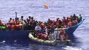 Italia rescata 3.000 migrantes en un día [VIDEO]