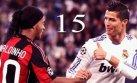 Ronaldinho reta a Cristiano Ronaldo con video de sus jugadas