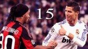 Este 'reto' le lanzó Ronaldinho a Cristiano Ronaldo en Facebook