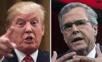 Donald Trump pide a Jeb Bush que deje de hablar español