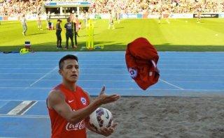 ¿Sampaoli? Inédita práctica de la selección chilena con hinchas
