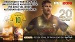 PES 2016: sorteo de edición especial de aniversario - Noticias de figueirense fc