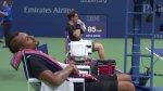 US Open: Kyrgios se tomó una siesta en pleno partido [VIDEO] - Noticias de youtube