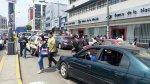 Los paraderos del corredor azul lucen vandalizados - Noticias de manuel candamo