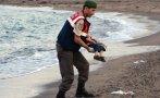 El niño que conmueve al mundo escapaba del Estado Islámico