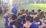 Twitter: impresionante arenga de niño de 7 años de Boca Juniors
