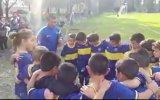 Impresionante arenga de niño de 7 años de Boca Juniors