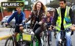 """Rosenvinge: """"Uso de bicicleta mejora mucho la calidad de vida"""""""