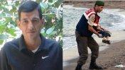 Padre del niño sirio que murió en el mar: Resbaló de mis manos