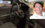 Jimmy Santi: desmantelaron auto del cantante en Jesús María