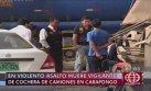 Carapongo: asalto a cochera dejó un anciano y 4 perros muertos