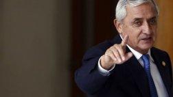 Guatemala: renunció el presidente Otto Pérez Molina