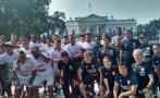 Selección peruana visitó la Casa Blanca en Washington [FOTOS]