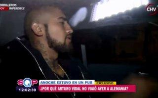 Chile: Vidal pidió no jugar por su hijo y fue visto en un bar