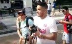 Juan Vargas hizo su última locura cerca a Casa Blanca [VIDEO]