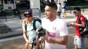 Vargas y otra locura: quitó cámara a turista en la Casa Blanca