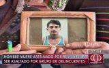 Joven asesinado por oponerse a robo a pocos metros de la Dinoes